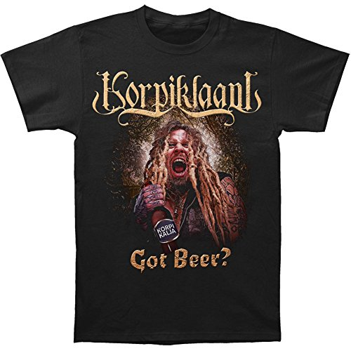 KORPIKLAANI     GOT BEER?       T-Shirt  XL