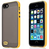Ahha Lulla Tonemix Soft back Case for Apple iPhone 5S / 5 - Black / Yellow (A-SCIH5-TL1E)