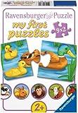Ravensburger - 07331 - Mes Premiers Puzzles - Adorables Animaux - 9 x 2 Pièces