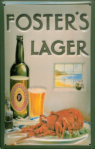 fosters-lager-beer-lobster-nostalgic-3d-embossed-domed-strong-metal-tin-sign-787-x-1181-inches