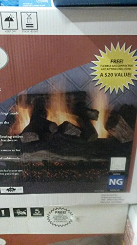 Emberglow Lanier Oak Vented Gas Log Set (Emberglow Vented Gas Logs compare prices)