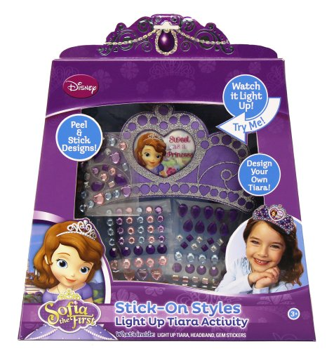 Tara Toy Sofia The First Stick-On Styles Light Up Tiara Activity Set