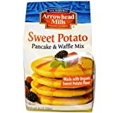 Arrowhead Mills - Sweet Potato Pancake & Waffle Mix, Made with Organic Sweet Potato Flour, 26 oz (Pack of 2)