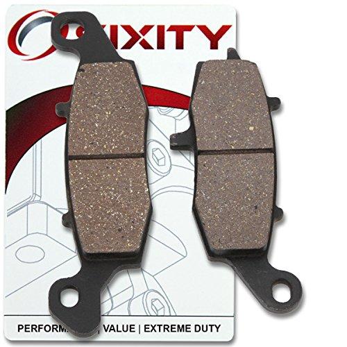 Sixity Rear Ceramic Brake Pads 2011-2013 Kawasaki VN1700 Vulcan 1700 Vaquero Set Full Kit Complete