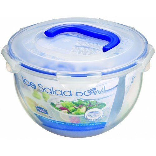 Lock & Lock 16.8 Cups Salad-To-Go Bowl with Handle,