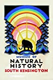 C1923 Vintage Travel ENGLAND, LONDON UNDERGROUND Natural History Museum by Edward McKnight Kauffer 250gsm ART CARD Gloss A3 Reproduction Poster
