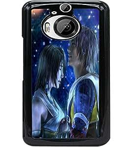ColourCraft Cute Couple Design Back Case Cover for HTC ONE M9 PLUS