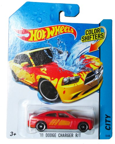 Hot Wheels City - Color Shifters 13/48 - '11 Dodge Charger R/T - 1