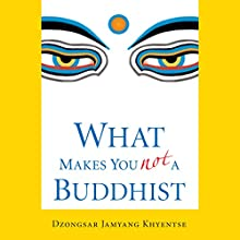 What Makes You Not a Buddhist (       UNABRIDGED) by Dzongsar Jamyang Khyentse Narrated by Tom Pile
