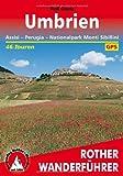 Umbrien. Assisi - Perugia - Nationalpark Monti Sibillini. 46 Touren. Mit GPS-Daten