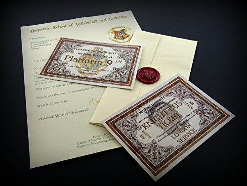 planetsforsale-carta-de-aceptacion-a-hogwarts-billete-para-el-expreso-de-hogwarts-billete-para-el-au