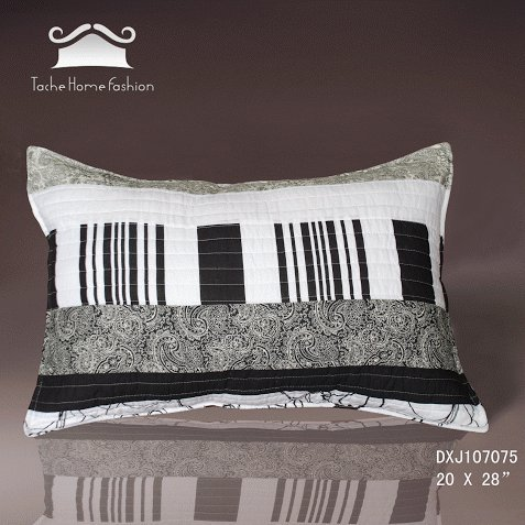 Tache 2 Piece 100% Cotton 20 X 28 Inches New York Penthouse Throw Pillow Case Cover front-178881
