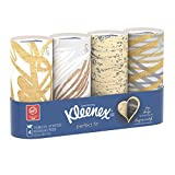 Kleenex Perfect Fit, 50 Count, (4 pack) - Packaging May Vary(Assorted color and style boxes)