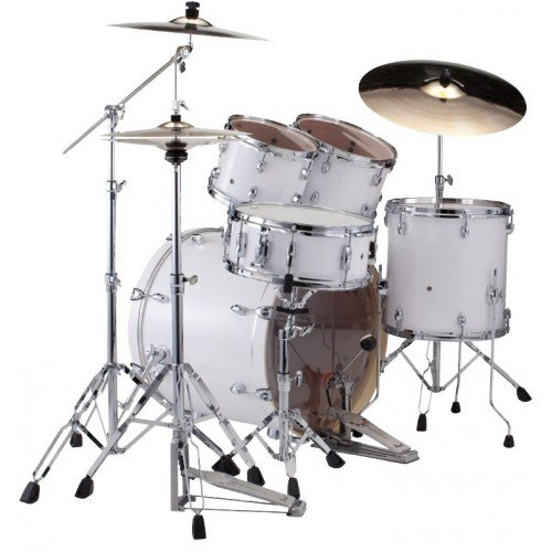 PEARL-EXPORT-STANDARD-BATTERY-22-Arctic-Sparkle-with-Cymbals