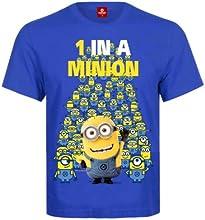 Minions Minion 1 In A Minion T-Shirt blue, Größe:S