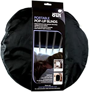 Lights Out Portable Blackout Blind