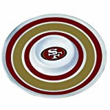 San Francisco 49ers 14 inch Melamine Chip and Dip