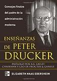 img - for Ense anzas De Peter Drucker (Spanish Edition) book / textbook / text book