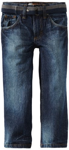 Lee Little Boys' Dungarees Relaxed Bootcut Jean, Bayou, 4 Slim
