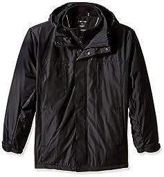 Calvin Klein Men\'s Big Polyester Bonded, Black, XX-Large