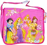 Disney Princess Messenger Bag or Laptop Bag with Adjustable Shoulder Strap (15x11x4)