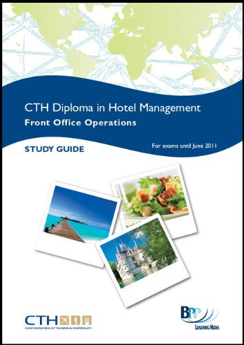 Confederation of Tourism and Hospitality (CTH) - Front Office Operations: Study Text