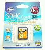 お値打ち class4 Team SDHCカード 8GB TG008G0SD24X