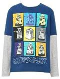 M&Co Doctor Who Dalek Grid Boys Character T-Shirt