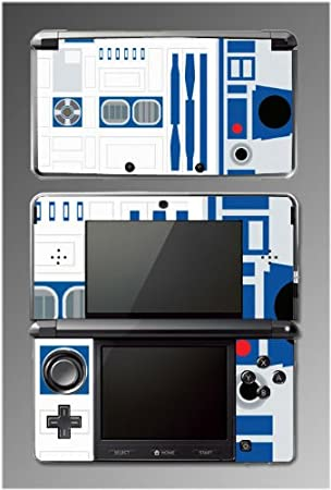 Star War R2-D2 Design Decal Game Vinyl Decal Cover Skin Protector #15 for Nintendo 3DS