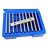 Machinist's Thin Parallel Bar Set - 10 Pair 1/8