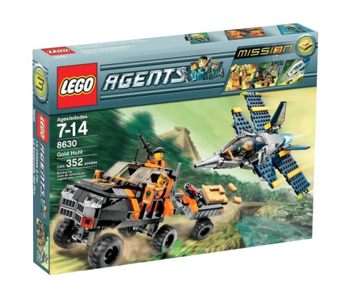 LEGO Agents Gold Hunt Amazon.com