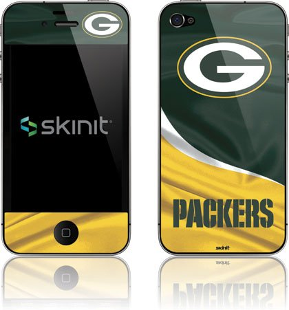 NFL® Green Bay Packers Vinyl Skin for Apple iPhone 4 / 4S from Skinit