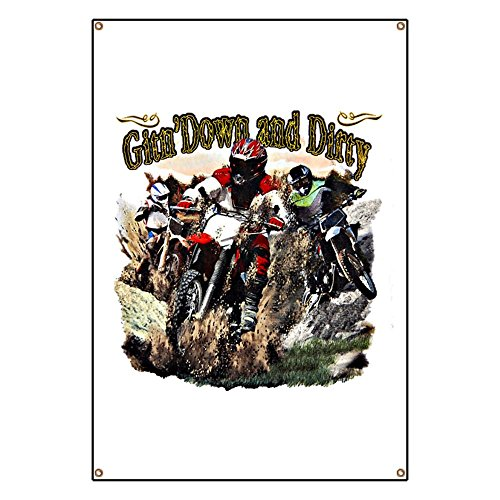 Banner Gitn' Down and Dirty Dirt Bikes