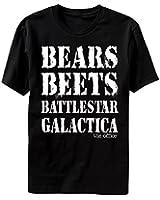 The Office Bears Beets Battlestar Galactica Mens T-shirt