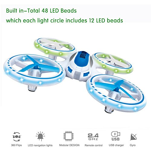 Maxbo 2016 New Released Drone UAV,3D Flip,LED Flashing Light,6 Axis Gyroscope, Loop Function, Rechargeable 2.4GHz 4CH RC Quadcopter Mini Quadrocopter