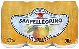 San Pellegrino Aranciata Sparkling Mineral Water Can 6 x 33 cl
