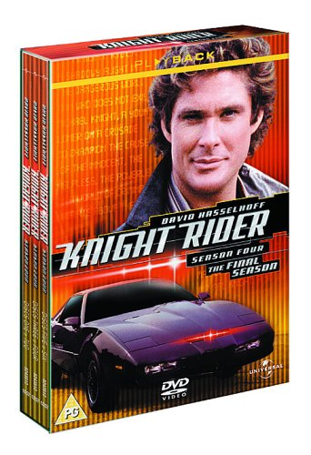 Knight Rider – Season 4 [DVD]