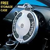 Full Cover Small Silver Car Security Disklok