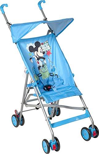 Lulabi Mickey Passeggino Leggero ad Ombrello, Azzurro