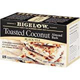 Bigelow Toasted Coconut Almond Bark Tea Bags, 6 Count