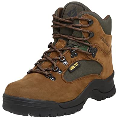 vasque men 39 s clarion gtx hiking boot brown green 9 5 w us. Black Bedroom Furniture Sets. Home Design Ideas