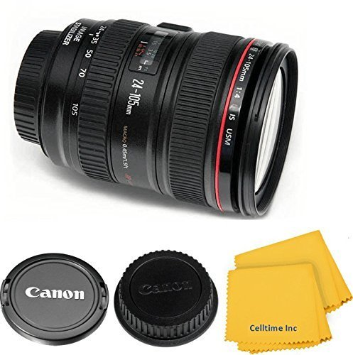 Canon EF 24-105mm f/4L IS USM Zoom Lens for Canon EOS 7D, 60