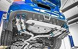 SUBARU WRX STI マフラー (エキゾーストパーツ) PREMIUM01TR≪HEAT BLUE TITAN≫ RACING-SPEC可変バルブ付 [材質]TITANIUM 1S006Z01TR