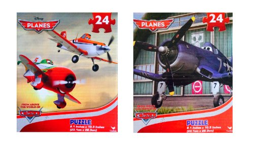 Disney Pixar Planes PUZZLES Set of 2