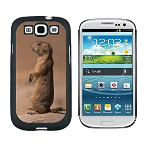 Prairie Dog Sentry - Snap On Hard Protective Case for Samsung Galaxy S3 - Black