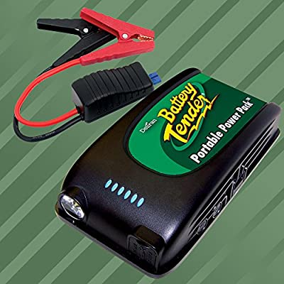 Deltran Battery Tender Lithium Powered Portable Power Pack 12V Jump Starter with USB Charger