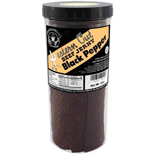 Buffalo Bills 16oz Black Pepper Western Cut Jar