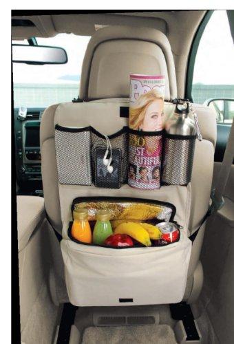Seat Back Organizer W/cooler Bag (Cream)
