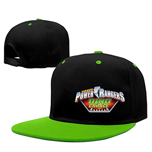 Power Rangers Dino Charge Unisex 100% Cotton KellyGreen Adjustable Snapback Baseball Caps One Size (Power Ranger Basketball compare prices)