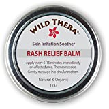 Rash Relief Balm. Soothing Relief from Rashes, Bug Bites, Mites